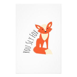 Papelaria Fox manhoso