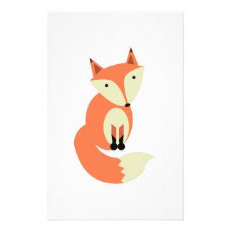 Papelaria Fox vermelho