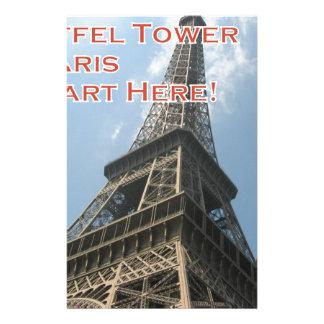 Papelaria Francês do verão 2016 de Paris France da torre