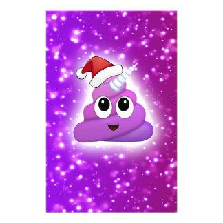 Papelaria Fulgor bonito de Emoji do tombadilho do unicórnio