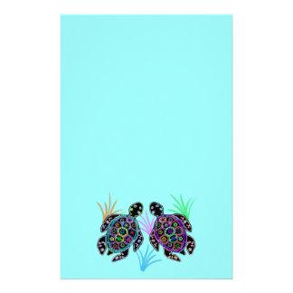 Papelaria Fulgor da tartaruga de mar