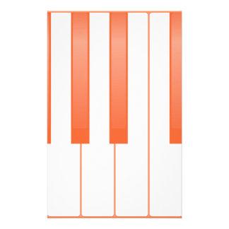 Papelaria Fundo chave do piano