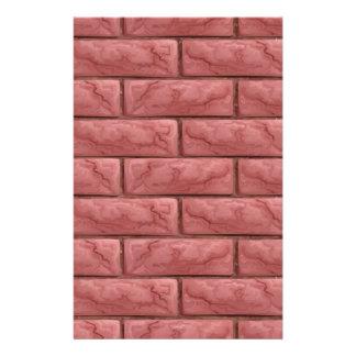 Papelaria Fundo sem emenda da textura da parede de tijolo