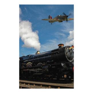 Papelaria Furacões e trem do vapor