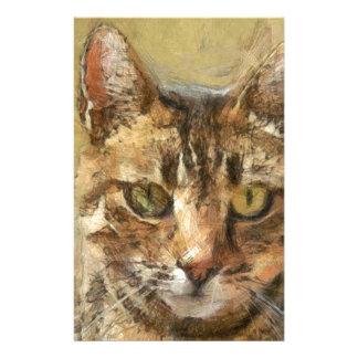 Papelaria Gato de gato malhado