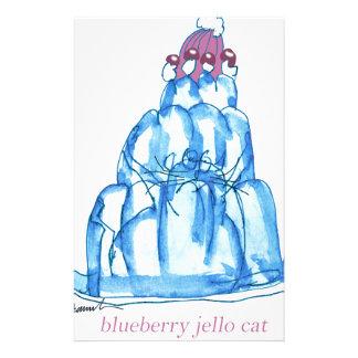 Papelaria gato do jello do mirtilo dos fernandes tony