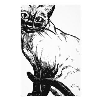 Papelaria Gato Siamese