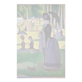 Papelaria GEORGE SEURAT - Um 1884 um domingo à tarde
