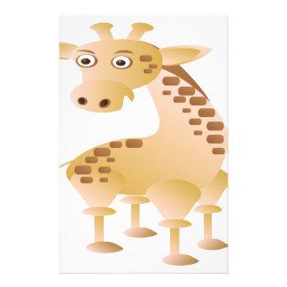 Papelaria Girafa, animal bonito