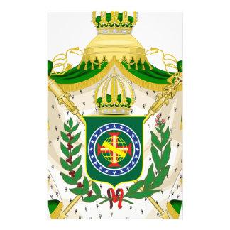 Papelaria Grandes Armas do Império do Brasil.