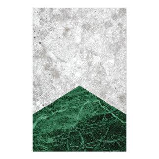 Papelaria Granito concreto #412 do verde da seta