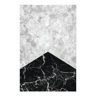Papelaria Granito concreto #844 do preto da seta
