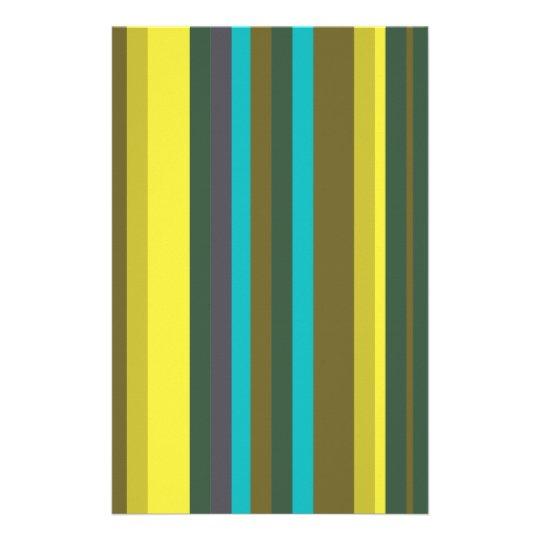 Papelaria Green_stripes