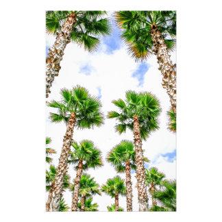 Papelaria Grupo de palmeiras retas altas