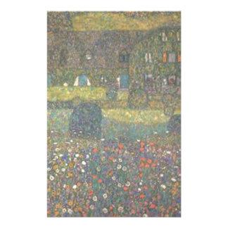 Papelaria Gustavo Klimt - casa de campo pela arte de