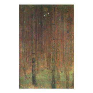 Papelaria Gustavo Klimt - floresta do pinho