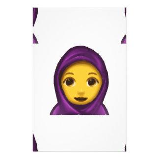 Papelaria hajib do emoji