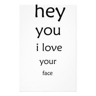 Papelaria hey você amor de i sua cara