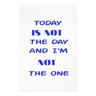 Papelaria Hoje não é o dia e eu não sou esse