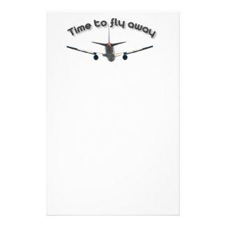 Papelaria Hora de voar afastado