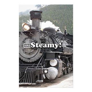 Papelaria Húmido!: cozinhe o motor do trem, Colorado, EUA 8