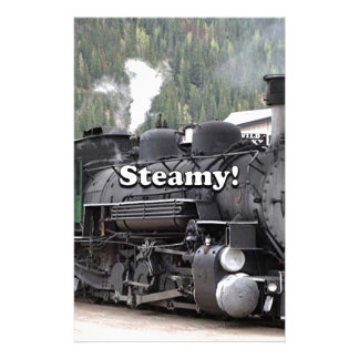 Papelaria Húmido!: motor do trem do vapor, Colorado, EUA
