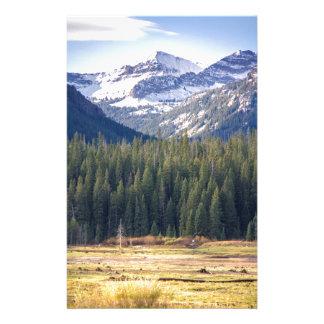 Papelaria Hyalite repica Bozeman, Montana