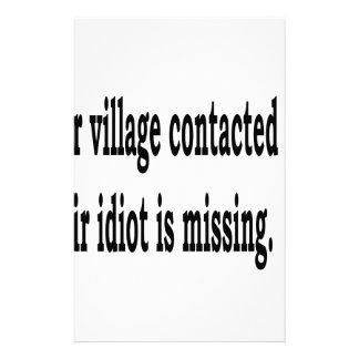 Papelaria Idiota da vila