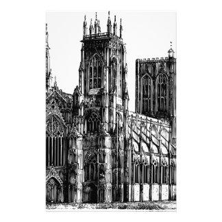 Papelaria Igreja gótico inglesa