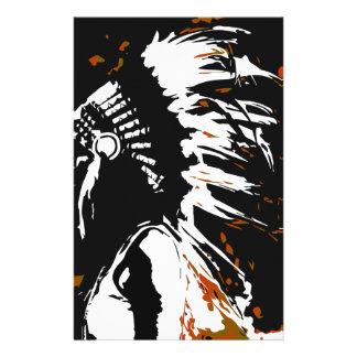 Papelaria Indiano do nativo americano