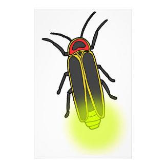 Papelaria inseto de relâmpago leve