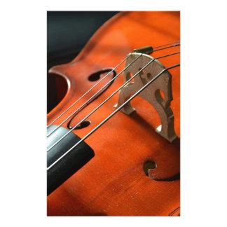 Papelaria Instrumento amarrado cordas da madeira do
