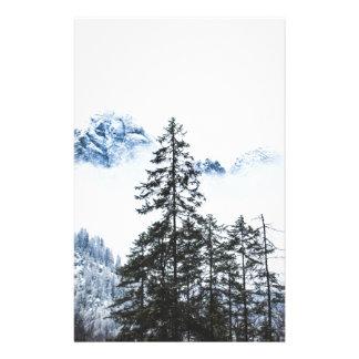 Papelaria Inverno dos againts da floresta do pinho