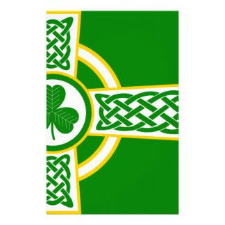 Papelaria Irish_Celtic_Cross