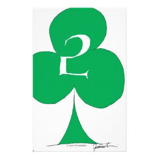 Papelaria Irlandês afortunado 2 dos clubes, fernandes tony