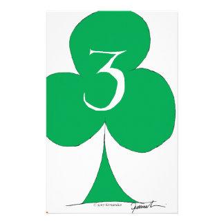 Papelaria Irlandês afortunado 3 dos clubes, fernandes tony