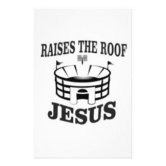 Papelaria Jesus aumenta o telhado yeah
