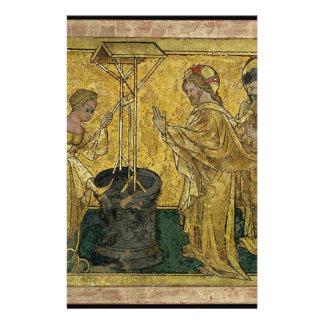 Papelaria Jesus e a mulher do samaritano no poço