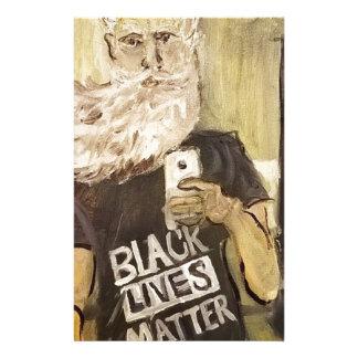 Papelaria John Brown Selfie/matéria preta das vidas