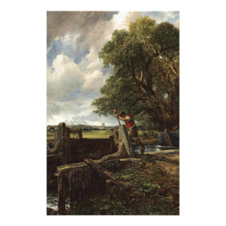 Papelaria John Constable - o fechamento - paisagem do campo