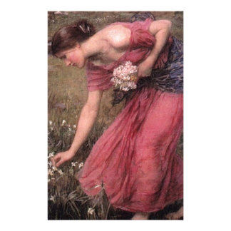 Papelaria John William Waterhouse - narciso - belas artes