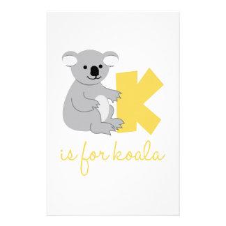 Papelaria K é para o Koala