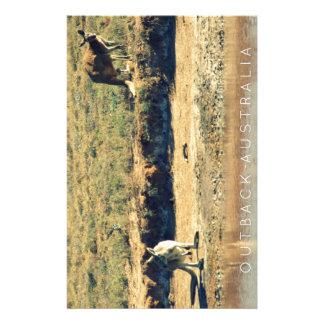 Papelaria Kangoroo australiano