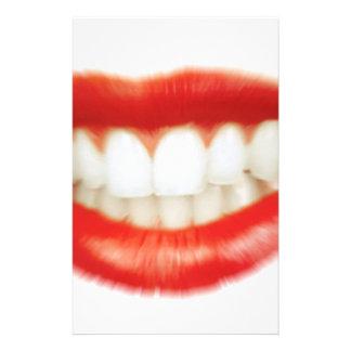 Papelaria Lábios vermelhos