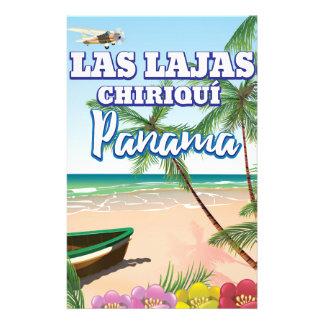 Papelaria Las Lajas, poster de viagens da praia de Chiriquí