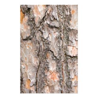 Papelaria Latido do pinheiro escocês como o fundo