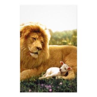 Papelaria Leão e cordeiro