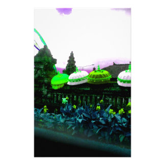 Papelaria Limão do respingo da cor de Bali do guarda-chuva