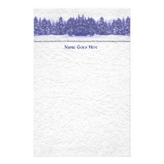 Papelaria Linha azul papel Handmade do pinho