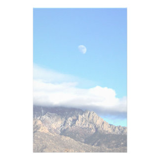 Papelaria Lua e nuvens sobre Sandias